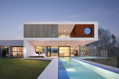 Residential Architect in Melbourne : Wolf Architects Melbourne Architecture Romane, Architecture Baroque, Modern Architecture House, Residential Architecture, Amazing Architecture, Villa Design, Architects Melbourne, Australia House, Melbourne Australia