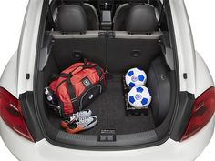 Vw Beetle Cargo Mat with Organizing Blocks (A011)