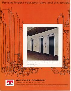 #TBT to this ad for The Tyler Company in our February 1967 issue. #ElevatorCab #Advertising #1967
