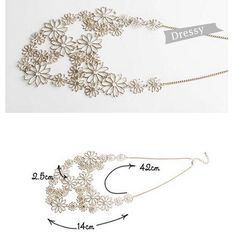 New ! Multilayer gold hollow flowers statement necklaces for women choker necklace Free shipping