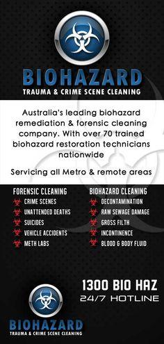 Flyer - Brisbane Crime Scene Cleaning