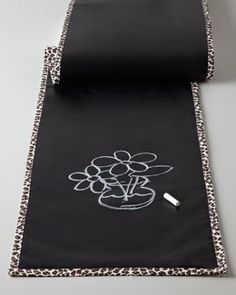 Take a look at #ScribbleLinens on NeimanMarcus.com! Reversible Chalkboard Table Runner. www.scribblelinens.com