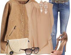 """Freizeitoutfit """"Lässige Eleganz"""" zusammengestellt von Coco2013 bei stylefruits.de. Artikel direkt bei unseren Shop-Partnern bestellbar!"""