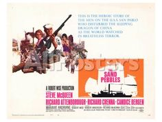 The Sand Pebbles, 1966 Movies Art Print - 61 x 46 cm