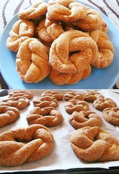 Κουλουράκια κανέλας !!! ~ ΜΑΓΕΙΡΙΚΗ ΚΑΙ ΣΥΝΤΑΓΕΣ 2 Chocolate Cake, Cupcakes, Cookies, Breakfast, Sweet, Desserts, Oreos, Food, Chicolate Cake