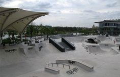 8. SMP Skatepark - The 25 Best Skateparks in the World   Complex