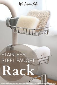 Stainless Steel Faucet Rack is Practical for Kitchen & Bathroom use. Simple Installation & Removal. #faucetrack #kitchen #dishwasher Advertise Here, Stainless Steel Faucets, Bathroom Faucets, Dishwasher, How To Remove, Group, Simple, Board, Kitchen