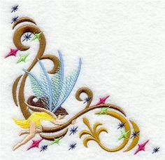 Machine Embroidery Designs at Embroidery Library! - Art Nouveau Fantasy