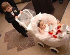 flower girl wagon   Carriage or Wagon for Flower Girl/Ring Bearer? - Long Island Weddings