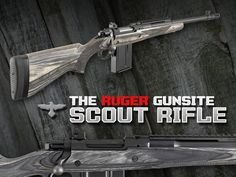 The Ruger Gunsite Scout Rifle #Firearms #Ruger #Rifle