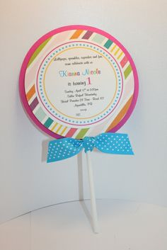 """Photo 1 of 18: Candy & Cupcakes / Birthday """"Sweet 1st Birthday""""   Catch My Party"""