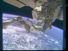 """NASA astronauts make rare Christmas Eve spacewalk"" - from USA Today"