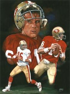 49ers Players, Nfl Football Players, Football Art, Football Memes, Joe Montana, Nfl 49ers, 49ers Fans, American Sports, American Football