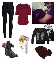 """""""Plane ride"""" by tomboy2002-1 ❤ liked on Polyvore featuring River Island, Vince, duty free and Rodarte"""
