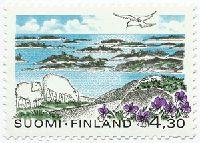 Saaristomeren kansallispuisto. Postimerkki 1997