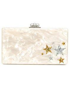 EDIE PARKER 'Jean' box clutch. #edieparker #bags #clutch #denim #hand bags #