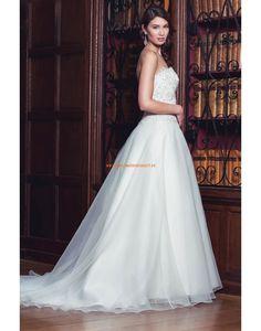 Augusta Jones 2013 Schöne Lange Hochzeitskleider aus Organza