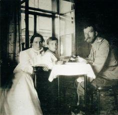 Alexandra, Alexei and Nicholas