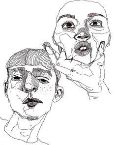 오늘 낙서 끝? 술마시러 고고싱싱 #doodle#sketch#dailydrawing#낙서#그림#드로잉#데일리드로잉#스케치#drawing