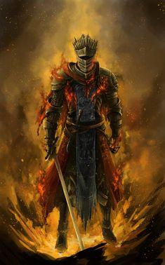Dark Souls 3 - Red Knight by LiewJJ