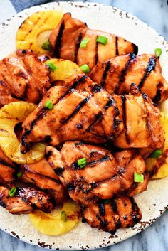 Grilled Huli Huli Chicken - Can use thighs or breasts.  Serve with rice and grilled veggies for a complete dinner