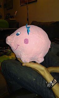 Paper Mache Pig