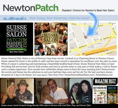 """Suisse Natural Hair Salon voted """"Best Salon"""" in the 2012 Newton Patch Readers' Choice Awards. Hair Loss Causes, Prevent Hair Loss, Natural Hair Salons, Natural Hair Styles, Reduce Hair Fall, Best Hair Salon, Hair Loss Women, Hair Loss Treatment, Hair Today"""