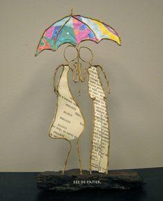 Fée de papier : Un p'tit coin d'paradis contre un coin d'parapluie ... - Technique by epistyle.blogspot.fr