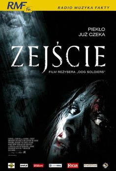 Zejście / The Descent Horror Movie Posters, Horror Movies, Dolly Zoom, The Descent, Horror Films, Scary Movies