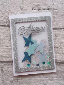 Buongiorno! Oggi è il mio turno di farvi vedere un progettino e avevo pensato a una shaker card maschile visto che per molte non è sempre f... Christmas Cards, Xmas, Old Cards, Explosion Box, Marianne Design, Shaker Cards, Diy Birthday, Mini Albums, Cardmaking