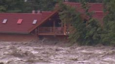Thu, Jun 20 : Flooding hits southern Alberta hard, here's some of the dramatic video of the day's devastating damage. O Canada, Alberta Canada, Bragg Creek, Water Spout, Watch News, Gif Of The Day, Extreme Weather, Calgary, Southern