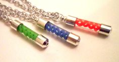 Resident Evil T A G virus pendant necklaces You choose by spaztazm, $18.00