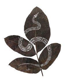 Cutout Leaf Art by Lorenzo Duran Silva - Plant Propaganda