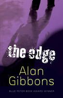 The Edge by Alan Gibbons - Danny and his mum are on the run from Chris, his mother's boyfriend, a violent man who beats them both up and won't let them go. Chris pursues them from London to the north, where they take refuge with Danny's grandparents. But Danny is conspicuous as the only mixed-race boy in their small community, and with the ever-present threat of discovery, he has to learn how to live continually on the edge.
