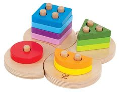 Hape Geometric Sorter Hapes Geometric Sorter is a multi-tasking shape sorter that will introduce your child to counting sorting and stacking skills in a fun colourful way.2012 marks a new dawning for Educo nearly 30 years  http://www.MightGet.com/january-2017-12/hape-geometric-sorter.asp