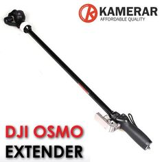 Emulate Stunning Jib Shots with Your DJI Osmo and the Kamerar Extender Adapter Dji Osmo, Vintage Cameras, Time Travel, Filmmaking, Outdoor Power Equipment, Travel Photography, Technology, Rigs, Gopro