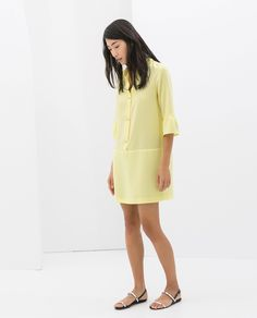 ZARA - SALE - DRESS WITH JEWEL BUTTONS