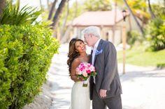bride and groom at the walkway by Casa Marina in Key West Marina /The Reach Resort Key West Wedding, Wedding Music, Destination Wedding, Wedding Venues, Sea And Ocean, Real Weddings, West Florida, Florida Keys, Walkway