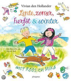 Vivian den Hollander - Lente, zomer, herfst en winter met Roos en Mika (4+)