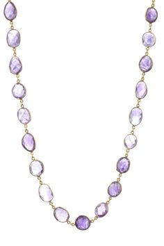 Rivka Friedman Amethyst Necklace obsessed with her jewelry