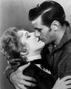 Gary Cooper and Kay Johnson