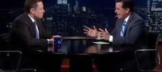 Here's Colbert's Complete Elon Musk Interview From Last Night