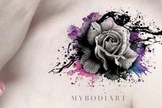 Cute flower wrist tattoo Neck Tattoo Cover Up, Flower Neck Tattoo, Flower Tattoo Shoulder, Shoulder Tattoos, Black Rose Tattoo Coverup, Cover Up Tattoos For Women, Wrist Tattoos For Women, Tattoos For Guys, Rose Tattoos
