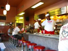 The best fun, little greasy spoon to grab breakfast in the quarter! Clover Grill.