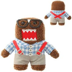 The Domo Nerd Plush is Insanely Adorable #Plushie #Toy