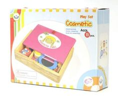 Wooden cosmetic play set, $65.99, Kangaroo Boo, Juice Holiday Gift Guide.