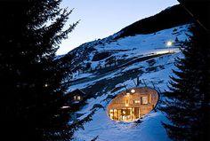 underground landscaped hill house