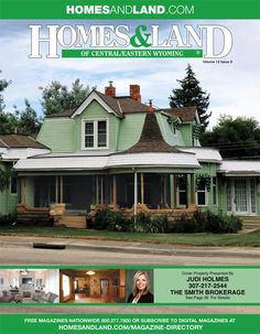 View the latest issue online of Homes & Land of Central/Eastern Wyoming #homesandlandmagazine #realestate #homesforsale