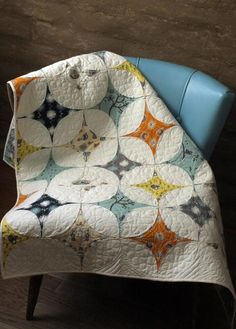 Star Gazer with decorative stitching between the highlight colors.