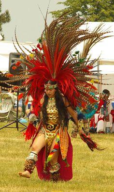 Danzante Azteca Distrito Federal México